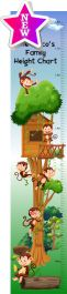 Family Height Chart - Monkey Tree House