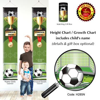 Soccer Football Champion - Height Charts