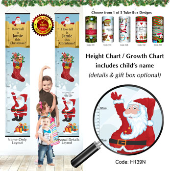 How high is child this Christmas 2 - Height Chart