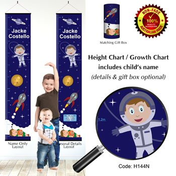 Height Chart - Boy Planet Space Dreamer