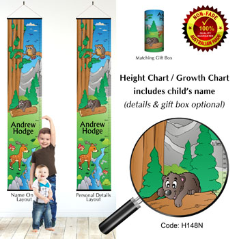 Height Growth Chart - Forest Adventure